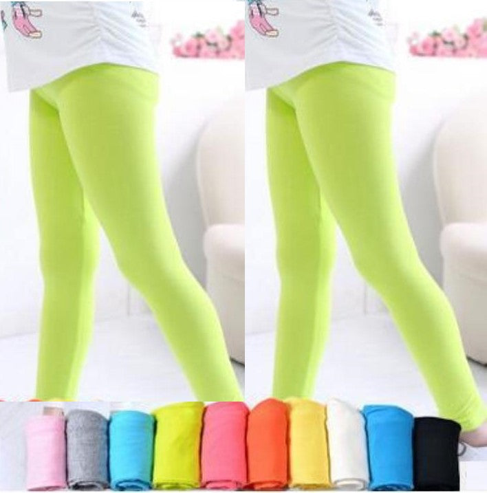 Girls Footless Sheer Tights
