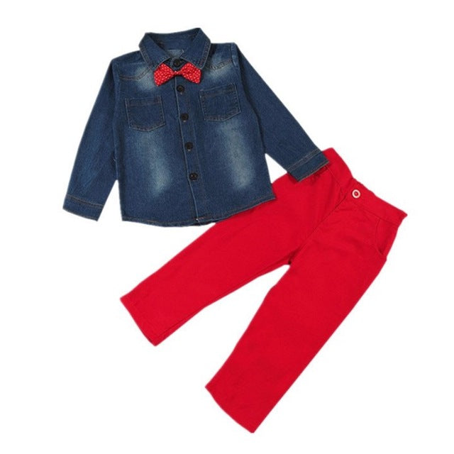 Boys Casual Style Pants Sets
