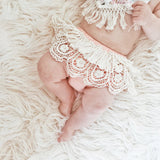 Lace Ruffle Diaper Cover