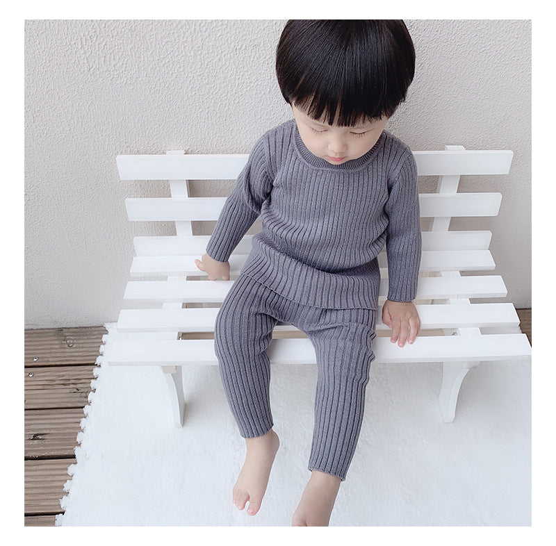 Boys 2-Piece Knitted Sweater Set