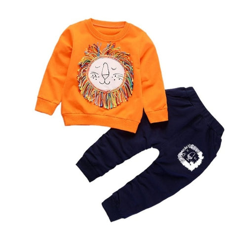 2-Piece Loopy Lion Sweatsuit
