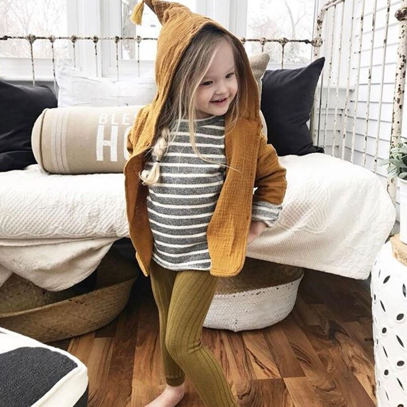 Girls Tassel Hooded Jacket