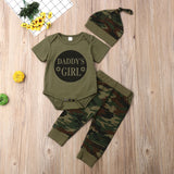 Boys or Girls T-shirt & Camouflage Pants Set