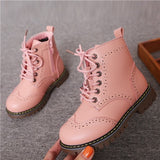 Girls Non-slip Fashion Ankle Boots