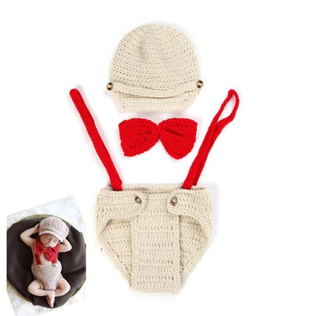 Infants Knitted Photo Props Sets