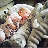 Baby Elephant Soft Baby Pillow