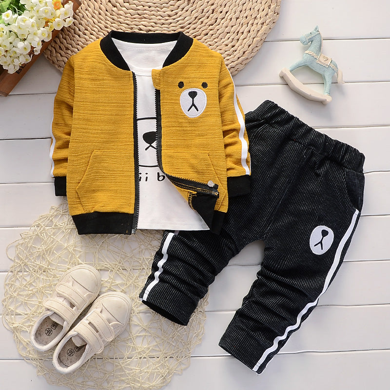 Boys 3-piece Tracksuit Set