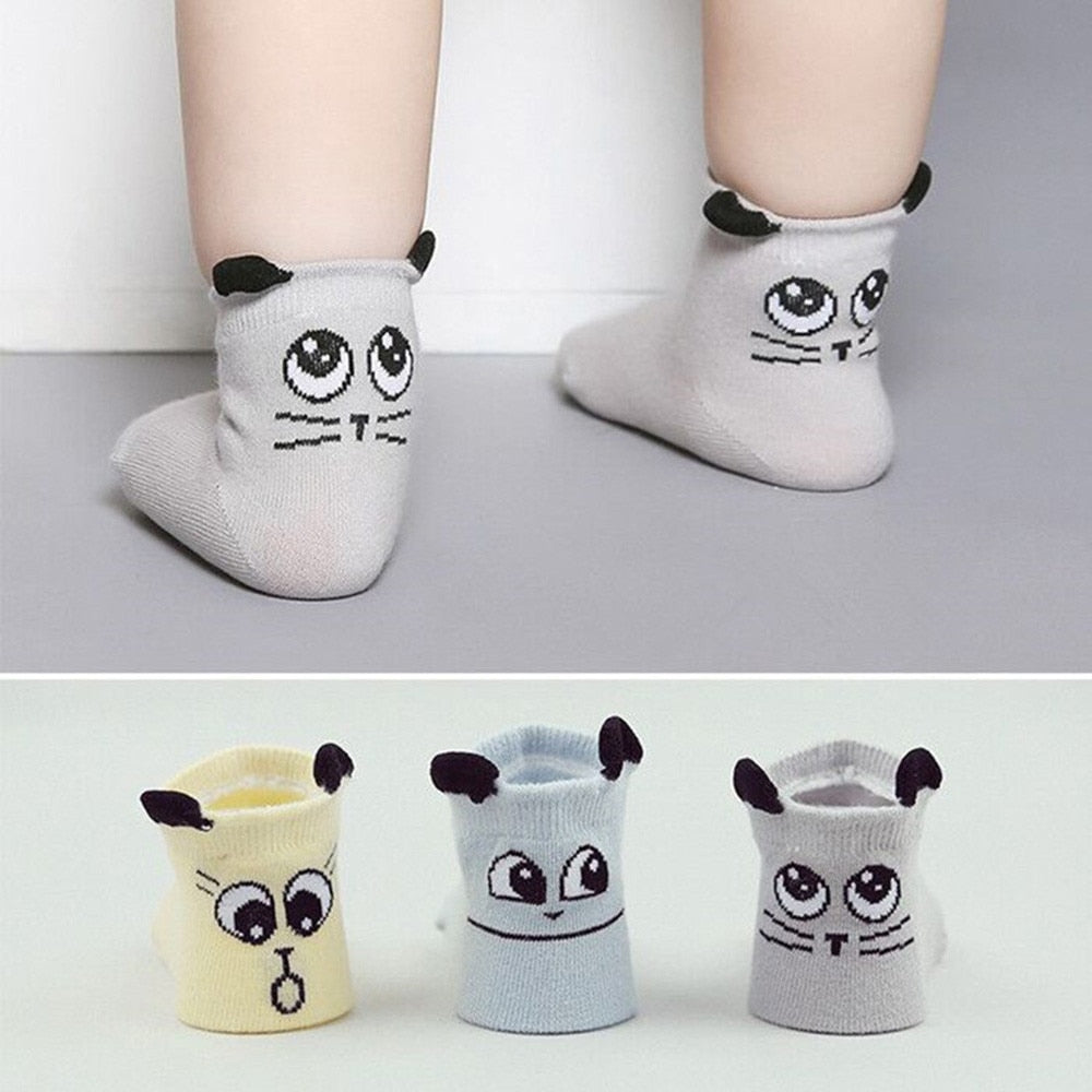 Infant Cartoon Ankle socks