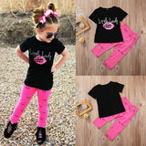 Girls Little Lady T-shirt and Leggings Set