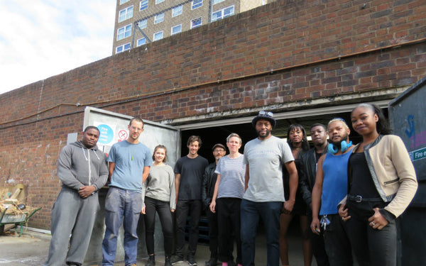 The Livesey Exchange; (front centre) Nicholas Okwulu Photo source: Southwark News