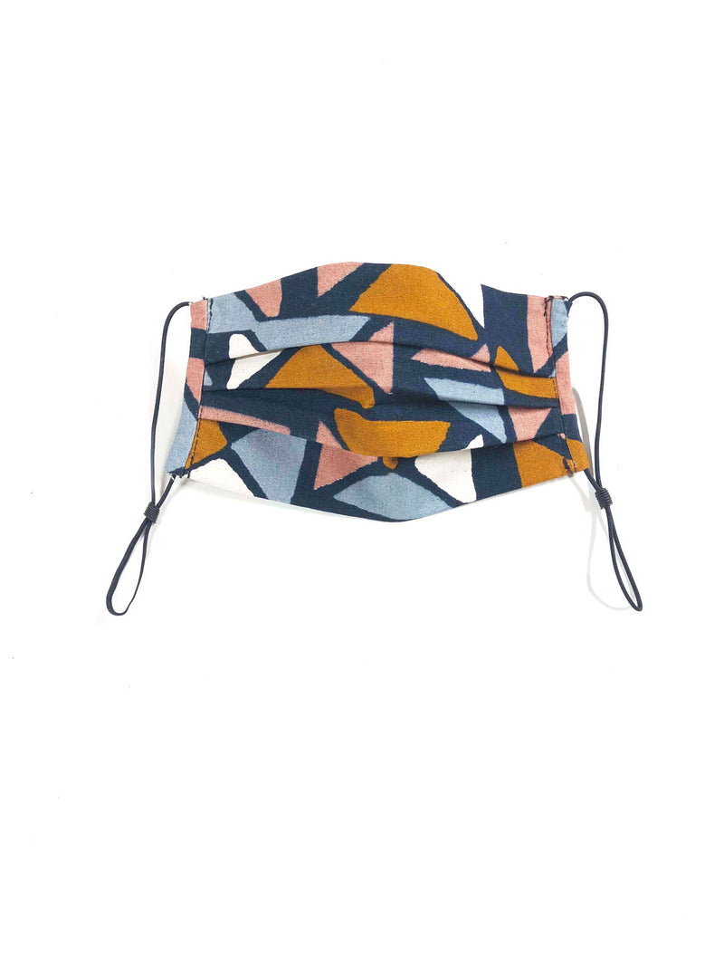 Face Mask in Triangle Print