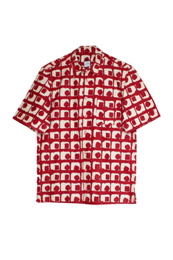Red Tile Shirt