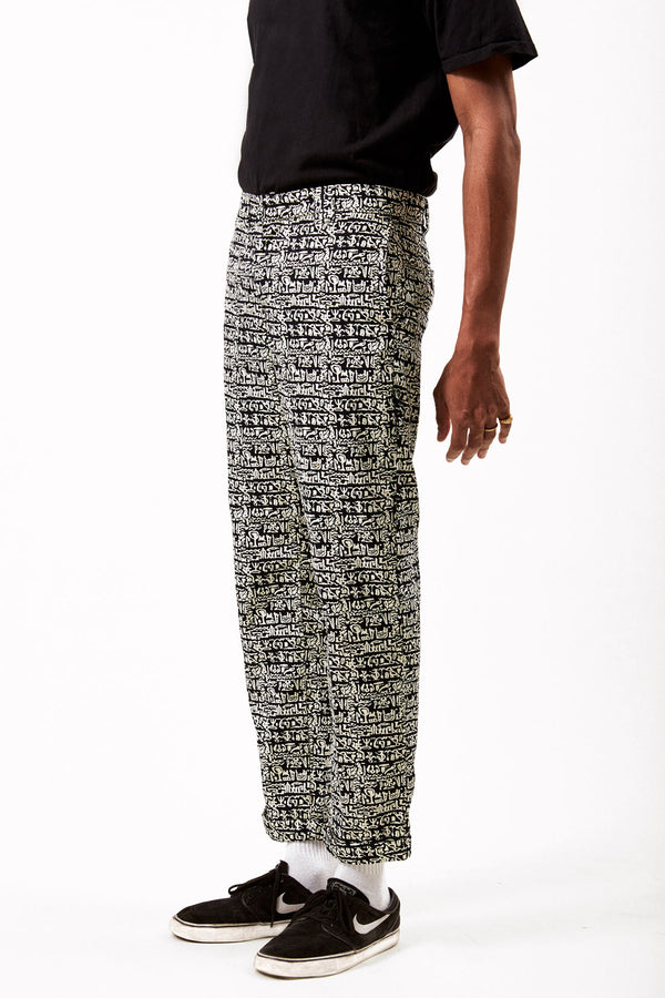 Asime Mens Symbols Trousers