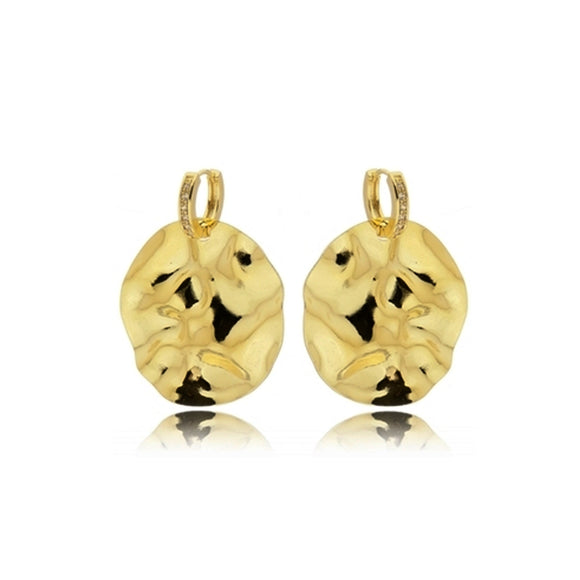 Designer Earrings - 18k Gold Plated