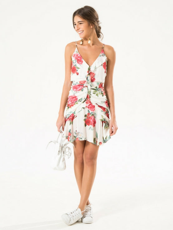 Farm Tuscany Frilled Dress