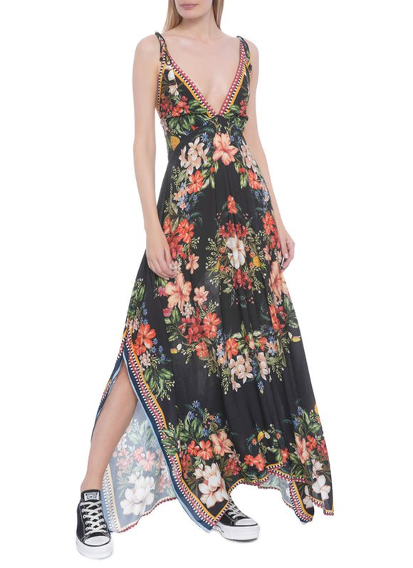 Farm Secret Garden Long Dress