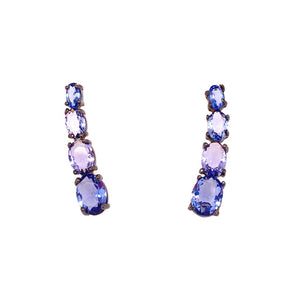 The Unique Cuff Earrings Tanzanite