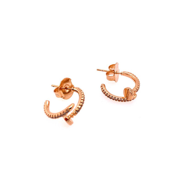 Cartier Detailed Earring Hoop