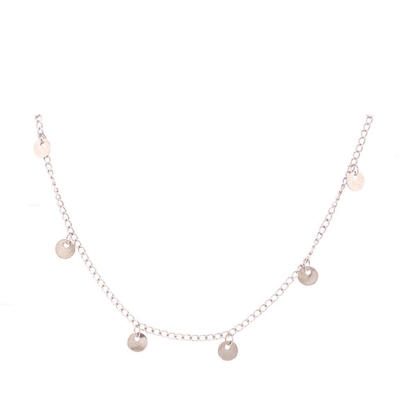 Medallions Spaced Choker