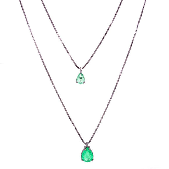 Exclusive Double Little Drop Necklace