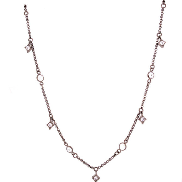 Losanges & Light Points Necklace