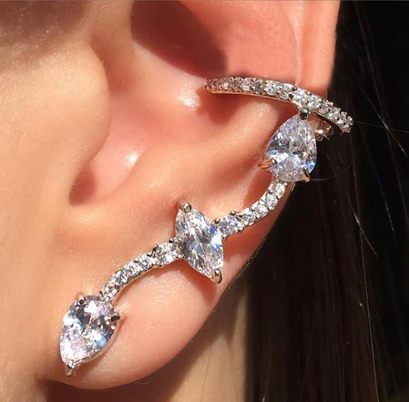 Inverted Nave Ear Cuff