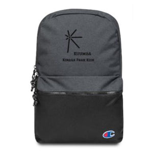 Kuumba Embroidered Champion Backpack