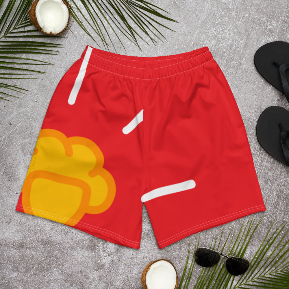 Shine Creamsicle Athletic Shorts