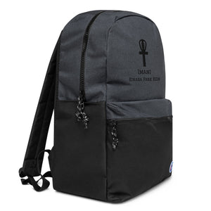 Imani Embroidered Champion Backpack