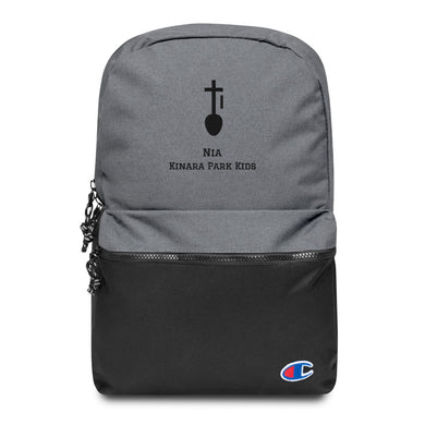 Nia Embroidered Champion Backpack