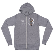 Load image into Gallery viewer, Umoja Unity Unisex zip hoodie