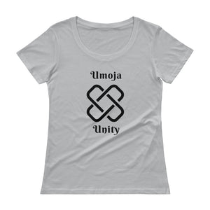 Umoja Unity Ladies' Scoopneck T-Shirt