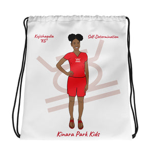 Kujichagulia Self-Determination Drawstring bag