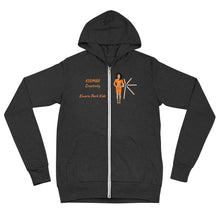 Load image into Gallery viewer, Kuumba Creativity Unisex zip hoodie