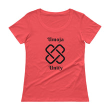 Load image into Gallery viewer, Umoja Unity Ladies' Scoopneck T-Shirt