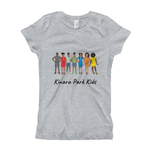 Load image into Gallery viewer, All Kids BLK SYM Girl's T-Shirt