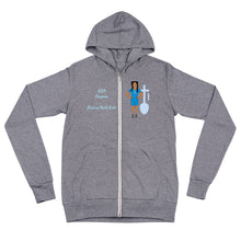 Load image into Gallery viewer, Nia Purpose Unisex zip hoodie