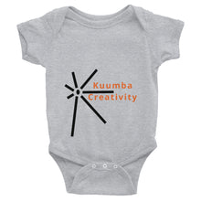 Load image into Gallery viewer, Kuumba Creativity Symbol Infant Bodysuit