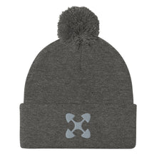 Load image into Gallery viewer, Ujima SYM GRY Pom-Pom Beanie