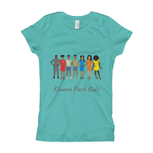 All Kids GRY Girl's T-Shirt