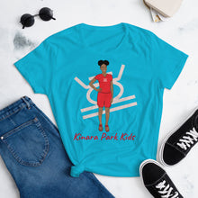 Load image into Gallery viewer, Kujichagulia Self-Determination Women's short sleeve t-shirt