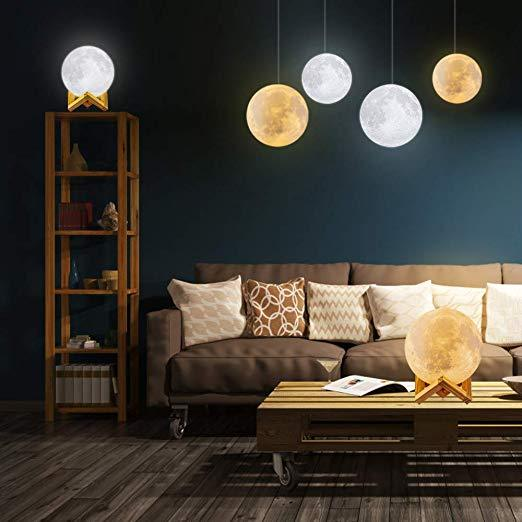 Fabulous Starry Moon Lamp Andrewgaddart Wooden Chair Designs For Living Room Andrewgaddartcom
