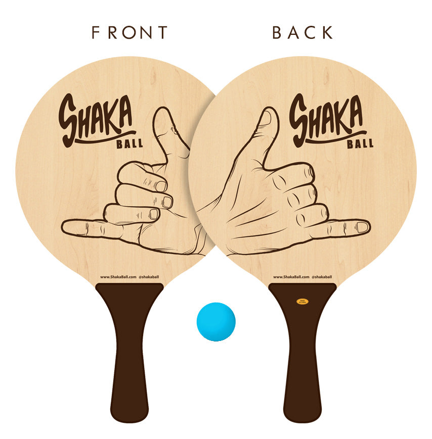 ShakaBall Replacement Paddles/Ball