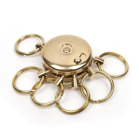 Brass Octopus Key Holder