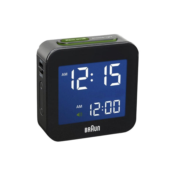 Braun BC-08 Digital Travel Alarm Clock