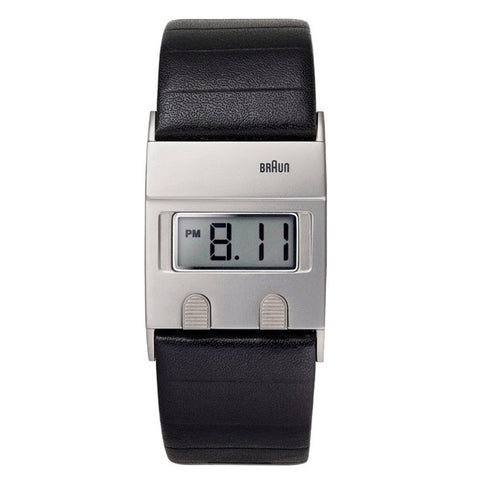 Braun DW-30 Square Digital LCD Wristwatch