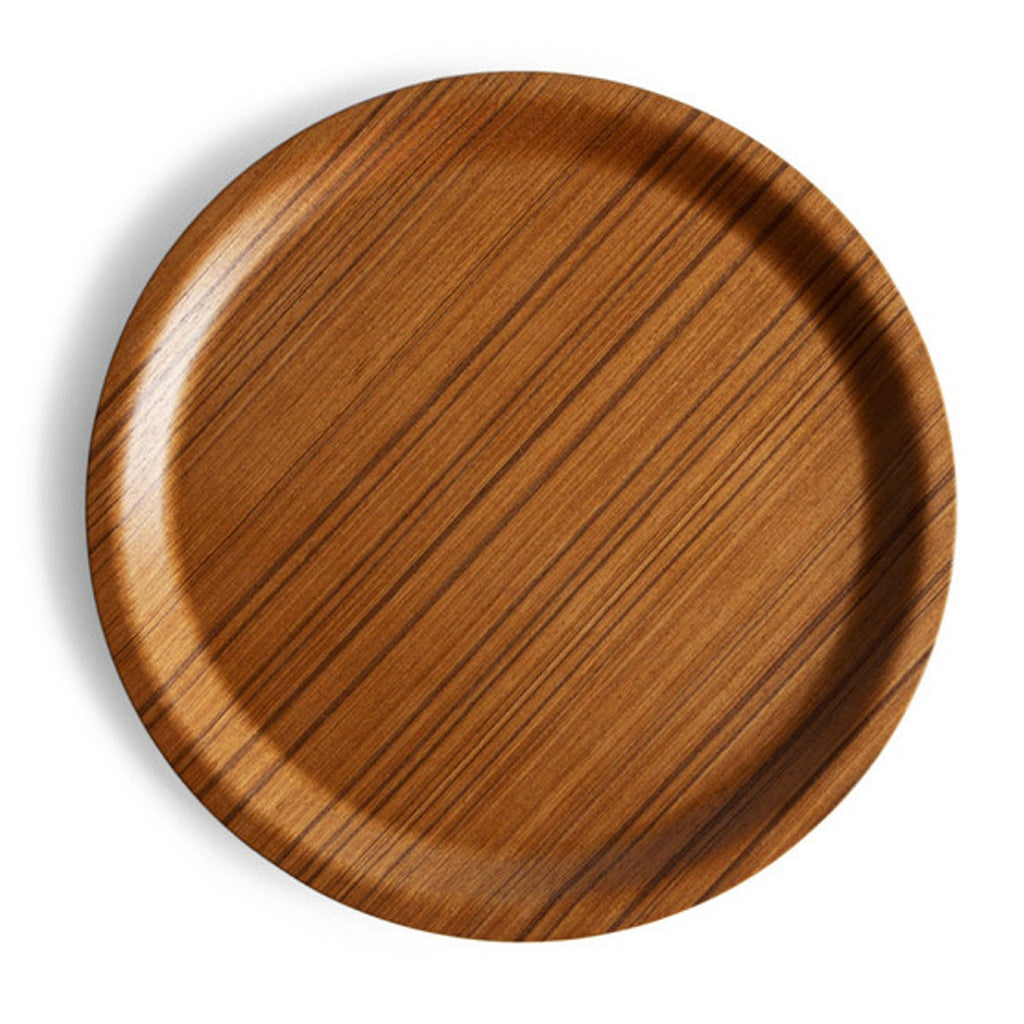 Japanese Molded Plywood Round Tray