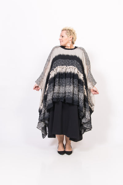 Asymetric Abstract Top/Tunic