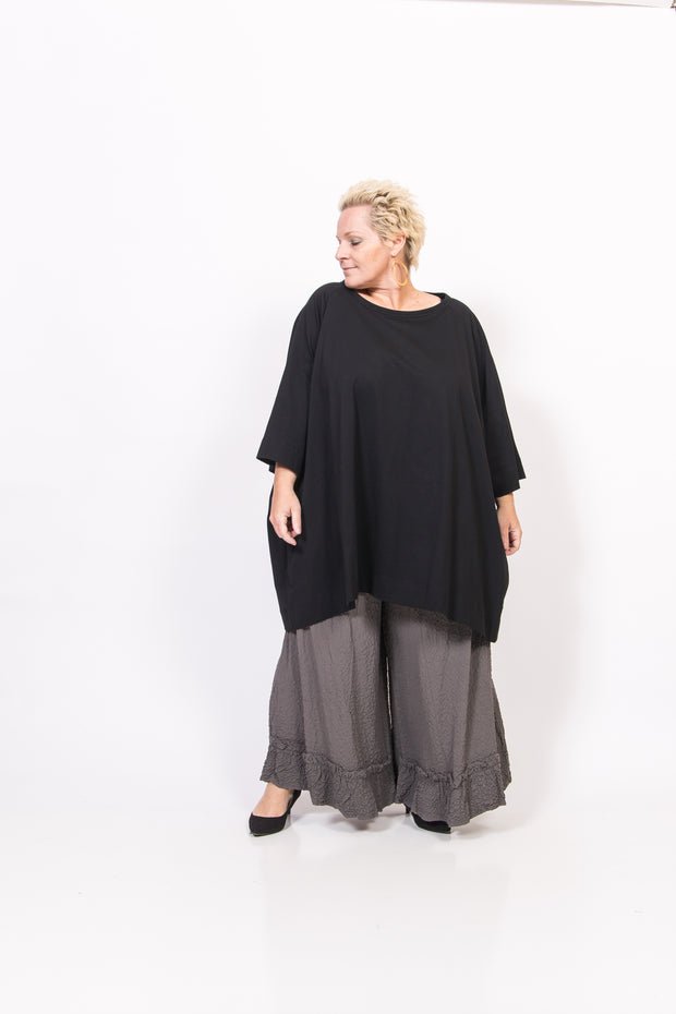 Black Cotton Tunic/Dress