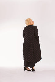 Brown Polka-Dots Jacket/Dress